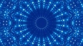 Błękitny abstrakcjonistyczny tło, pętla ilustracji