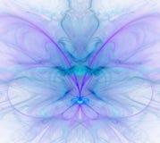 Błękitny abstrakcjonistyczny tło z zimnem i - błękit, turkus, purpura - Zdjęcia Royalty Free