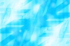 Błękitny abstrakcjonistyczny technologii tło. Obraz Royalty Free