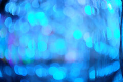 Błękitny abstrakta światła tło Zdjęcie Royalty Free