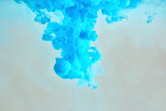 błękitny atramentu wzoru miękka część Fotografia Royalty Free