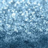 Błękitny błyskotliwości bokeh tło Obraz Stock