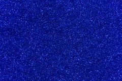 Błękitny błyskotliwości tekstury abstrakta tło Fotografia Stock
