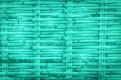 Błękitny Bambusowy drewniany deseniowy tło fotografia stock