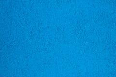 Błękitny barwiony akrylowego żywicy podłoga tło Obraz Royalty Free