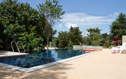 błękitny basen Obrazy Royalty Free