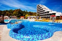 Błękitny basen Zdjęcia Royalty Free
