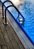 Błękitny basen Fotografia Royalty Free