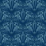 błękitny bezszwowa tapeta Obrazy Stock