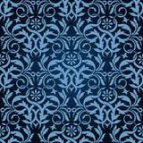 błękitny bezszwowa tapeta Obraz Royalty Free