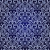 błękitny bezszwowa tapeta Fotografia Royalty Free