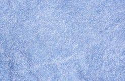 Błękitny bezszwowy tło dla tekstylnego projekta Zdjęcie Stock