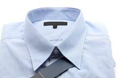 błękitny biznesowa koszula zdjęcia stock
