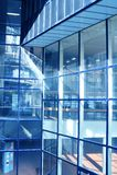 błękitny biznesowa sala Fotografia Stock