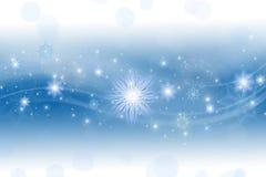 Błękitny Bożenarodzeniowy tło Zdjęcia Royalty Free