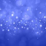 Błękitny bokeh tło Obraz Stock