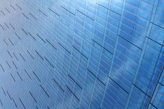 błękitny budynek Zdjęcia Royalty Free