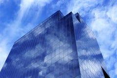 Błękitny budynek Obraz Stock