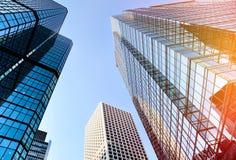 błękitny budynku biura niebo Obraz Stock