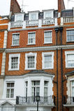 błękitny budynku domu mieszkaniowy niebo Zdjęcia Stock