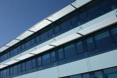 błękitny budynku nowożytny biuro Fotografia Royalty Free