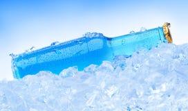 błękitny butelka Zdjęcia Stock