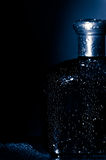 błękitny butelka Obraz Royalty Free