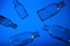 błękitny butelka Obraz Stock