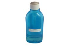 błękitny butelka Zdjęcie Stock