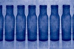 błękitny butelki Zdjęcie Stock