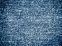 Błękitny cajgowy tło Obrazy Stock
