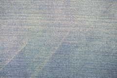 Błękitny cajgowy tło i textured Obraz Stock