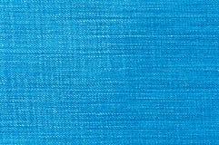 błękitny cajgu tekstura Zdjęcia Royalty Free