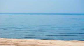 Błękitny calmness morze bałtyckie obraz royalty free