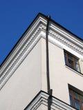 błękitny ceglanego domu wiodący nieba biel Obrazy Stock