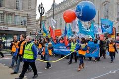 błękitny chaosu klimatu protesta przerwa Zdjęcia Royalty Free