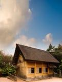 błękitny chińczyka domu nieba tradycyjny poniższy drewniany Fotografia Stock