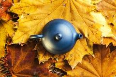 Błękitny Chiński teapot Obraz Royalty Free