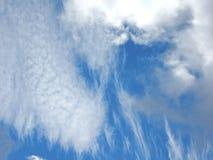 błękitny chmur kopii puszysty nieba przestrzeni biel Obraz Stock