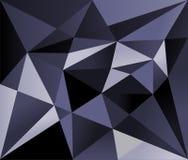 Błękitny cienia wielobok Ilustracji