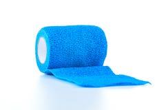 Błękitny Coban, bandaża opakunek Fotografia Royalty Free