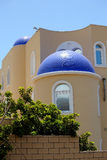 błękitny creme fasade dach Obraz Royalty Free