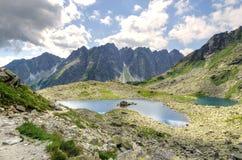 błękitny Crimea głęboki krajobrazowy halny nieba lato Ukraine Zdjęcie Royalty Free