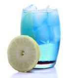 błękitny Curacao pije zdjęcia royalty free