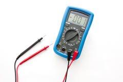 Multimeter z sondami zdjęcia stock