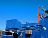 błękitny czerwień Obraz Stock