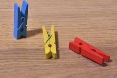 błękitny czerwieni kolor żółty Obrazy Stock
