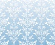 błękitny dekoracyjny ornament Fotografia Royalty Free
