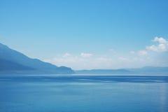 błękitny denny niebo Zdjęcie Stock