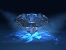 błękitny diament Obraz Royalty Free
